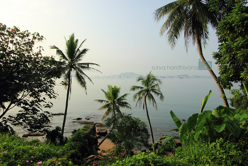 Pemandangan di Pantai Sibolga