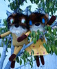 Mr. and Mrs. Fox Jenny Smith Plush Artist
