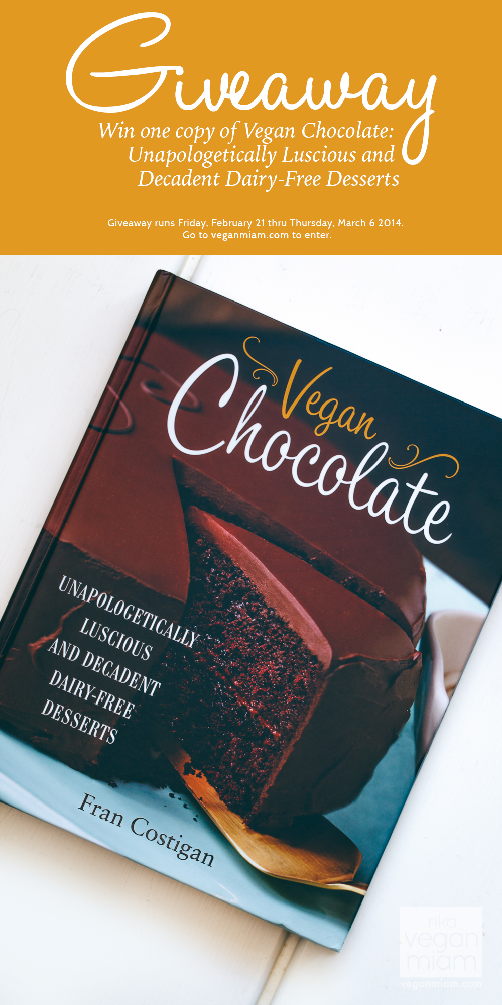 Vegan Chocolate cookbook