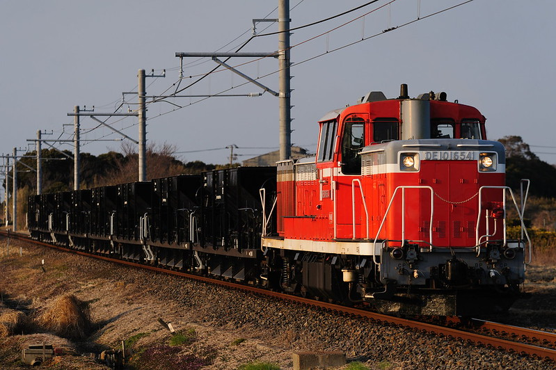 DE10 1654 Construction Extra Train