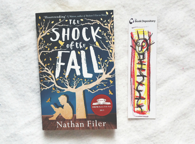uk book review blog lifestyle the shock of the fall nathan filer