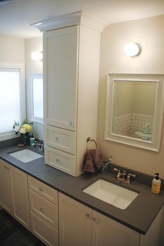 Custom cabinets for vanity