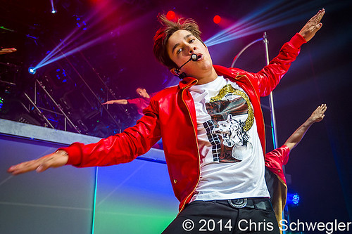 Austin Mahone – 03-02-14 – MTV Artist to Watch Tour, Royal Oak Music Theatre, Royal Oak, MI
