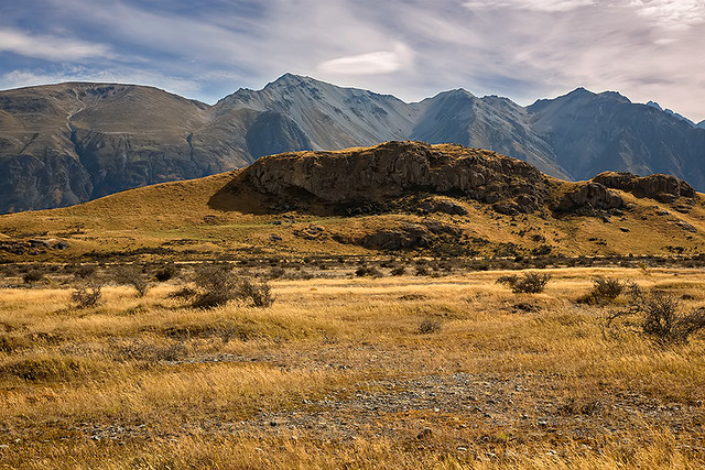 Mt. Sunday aka Edoras in New Zealand.