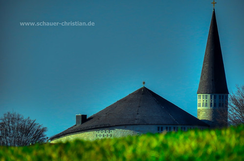 blue roof sky panorama tree green tower simon church window saint forest germany landscape bayern deutschland bavaria high cross cathedral fenster kirche himmel churchtower christian kreuz german gras blau landschaft dach baum hdr passau blauer bavarian sankt kirchturm hauzenberg schauer oberdiendorf