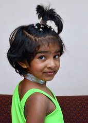 Anushka, my sweet g.d., is 4