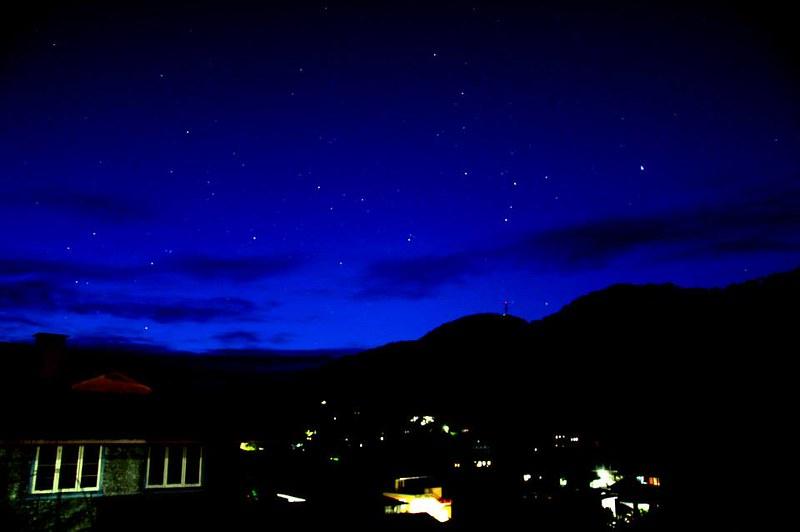 Starry mornight