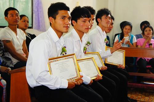 พิธีมอบวุฒิบัตรสำเร็จการศึกษาของนักศึกษาศูนย์คำสอนรุ่นที่ 18