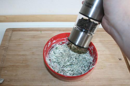 18- Mit Pfeffer & Salz abschmecken / Taste with salt & pepper