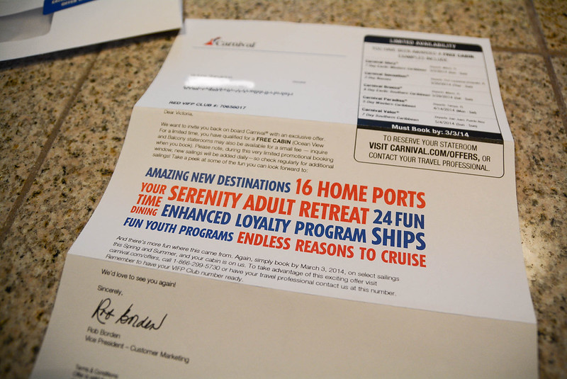 Free Carnival Cruise