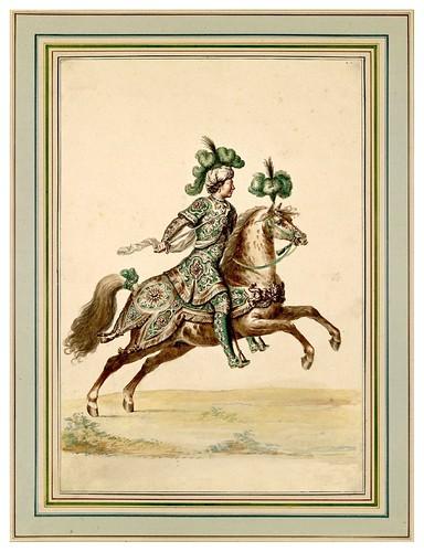 008-Carrousel des galans Maures de Grenade…1685- Jean Berain- INHA