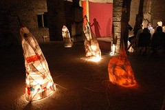MPA - Kicking Leaves storytelling 2002 - Gawthorpe Hall Barn - CO1217
