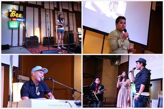 Twestival Kuala Lumpur 2013 - Chelsia Ng, Elvira, Liang, Ray Cheong, Vince Chong