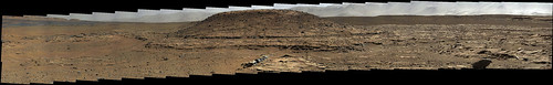 Curiosity sol 595 MasCam right