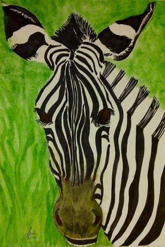 Week 17 Horse III - Zebra