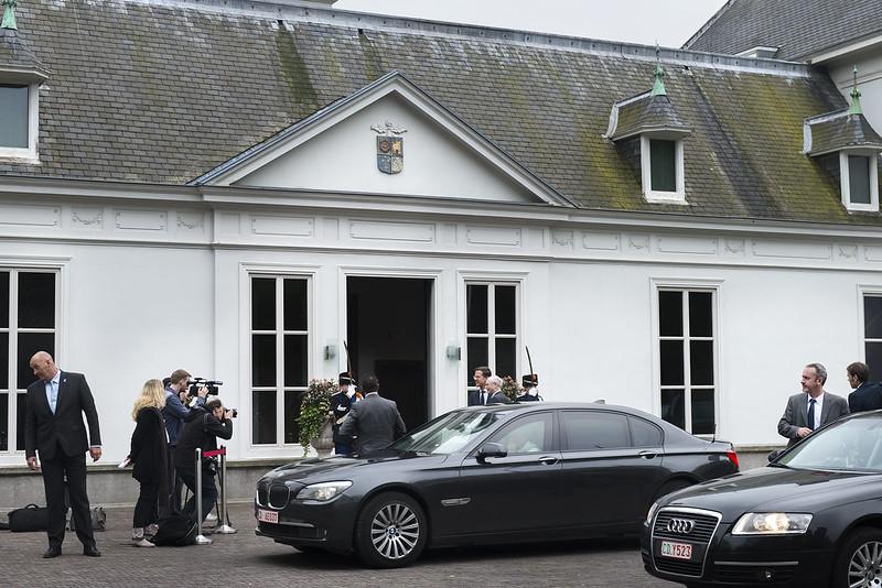 Rutte ontvangt Van Rompuy