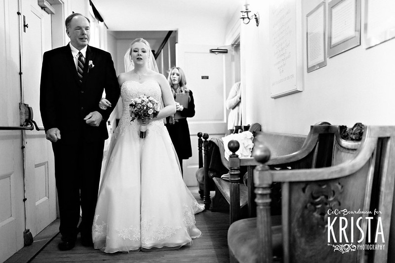Winter Wedding at Mystic Aquarium