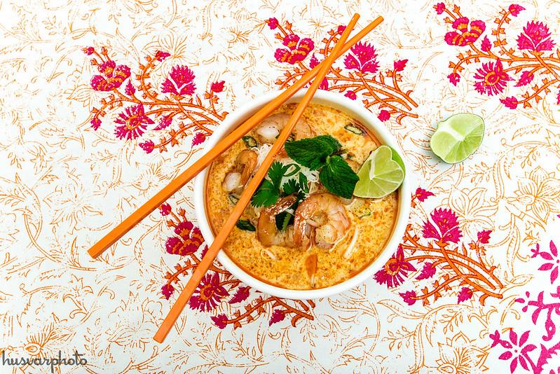 #malaysiaKitchen Shrimp Curry Laksa