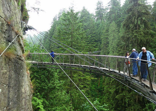 The Cliff Walk at Capilano Suspension Bridge