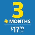 3 Month PS Plus