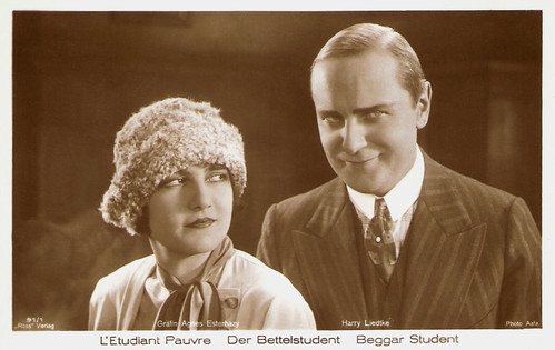Agnes Esterhazy and Harry Liedtke in Der Bettelstudent (1927)