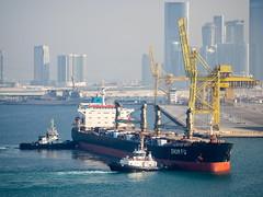 Shun Fu. Puerto de Abu Dabi, Mina Zayed. Abu Dhabi Harbour.