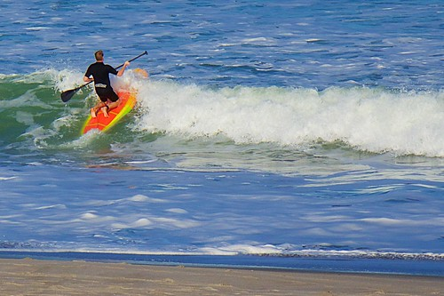 ocean surf florida surfer paddle surfing surfboard paddling indialantic