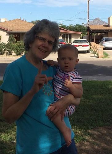 Nanie & Louisa Mae