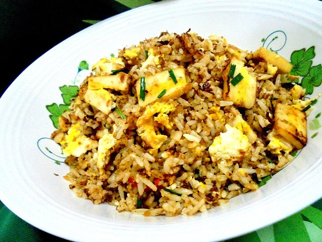 Nyonya sauce fried rice