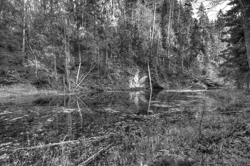bw landscape latvia hdr clifs cēsis canon550d cīrulīši vitalijsrusanovs