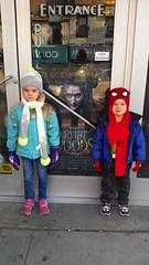 Outside Kew Gardens Cinemas