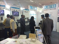 Matrix showcased its security solutions at IFSEC India 2014, New Delhi (11-13 December)