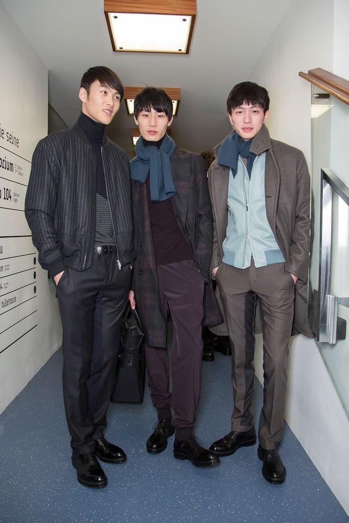 FW15 Paris Hermes320_Li Chen, Yan, Jin Dachuan(fashionising.com)
