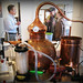 Copper alembic still
