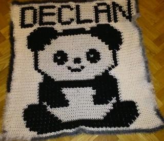 PANDA BLANKET FOR DECLAN