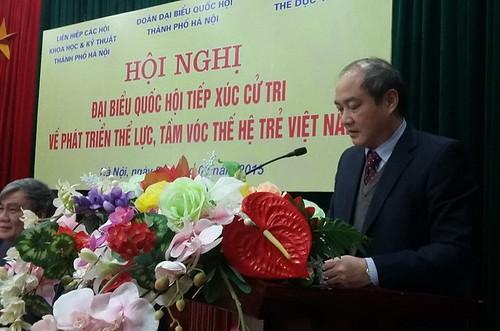 'Người Việt Nam đang bị… đói vận động'