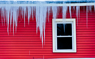 Icicles in Andes, NY