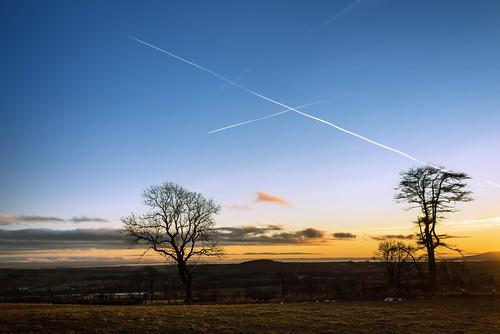 sunset scotland dumfriesgalloway solwayfirth ecclefechan