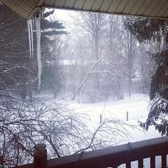 Gotta love Ohio in February. #snow #Ohio #brrr