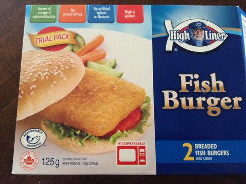 Fish Burger 2 for $1