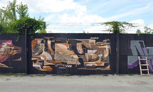 dilkone dilk visa regime wall mural composition 2016