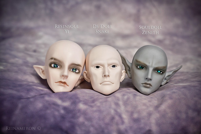 DS Doll Snake Resinsoul Souldoll