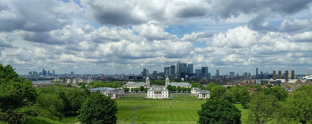 Greenwich from the observatory
