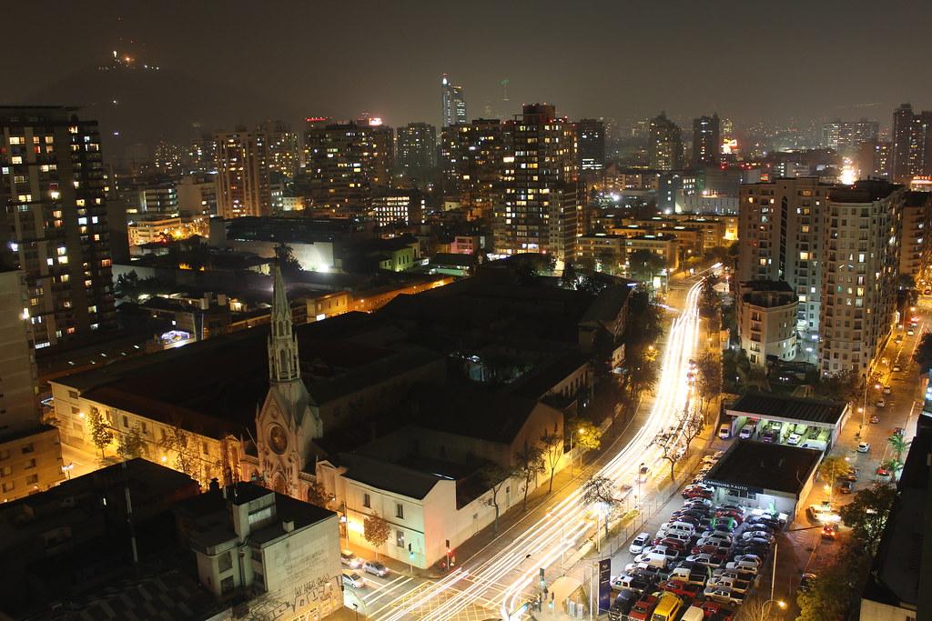 Santiago nocturno 2