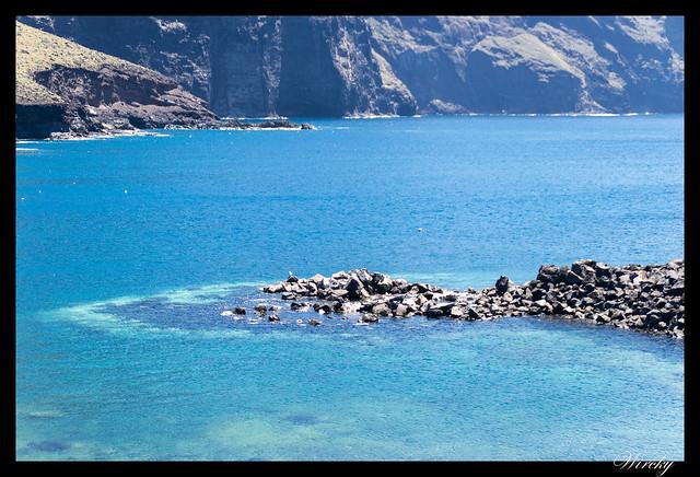 Punta de Teno lugar más occidental Tenerife - El mar en Punta de Teno