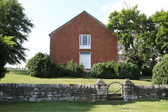 Christ Church, aka Morgan's Chapel, established 1740 by Morgan Morgan, current building circa 1851, Bunker Hill, WV