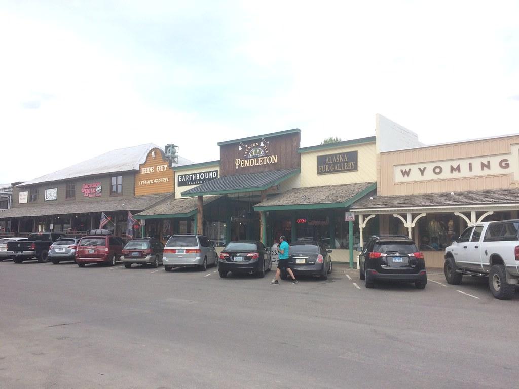 Jackson Country Square Shopping Center Wyoming Around