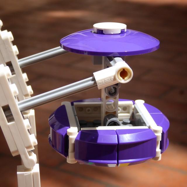 Gondola Viola - Lego 10247 - Ferris Wheel
