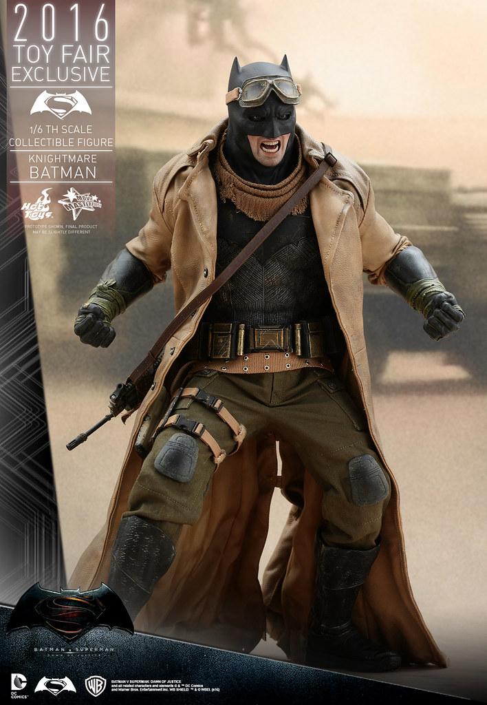 Hot Toys – MMS372 – 蝙蝠俠對超人:正義曙光【噩夢蝙蝠俠】Knightmare Batman 1/6 比例人偶作品