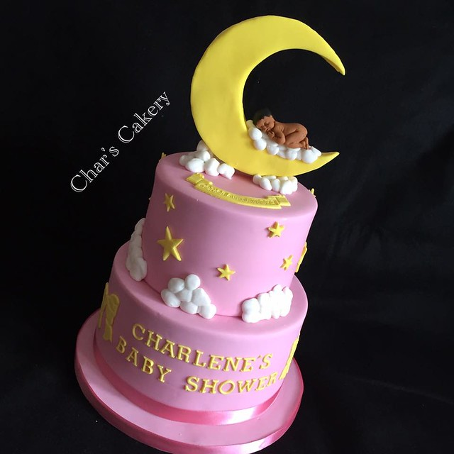 Baby Shower Cake by Char's Cakery